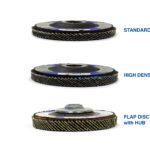 Flap disc 5-Disc Thickness